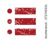 red grunge ordinal list logo on ...