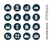 architecture icons universal... | Shutterstock .eps vector #272741111
