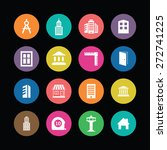 Architecture Icons Vector Set....