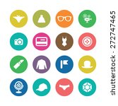 accessories icons universal set ... | Shutterstock .eps vector #272747465