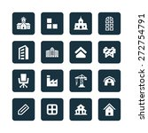 architecture icons universal... | Shutterstock .eps vector #272754791
