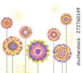 springtime colorful hydrangea...   Shutterstock . vector #272760149