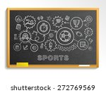 sport hand draw integrated... | Shutterstock .eps vector #272769569