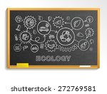 ecology hand draw integrated... | Shutterstock .eps vector #272769581