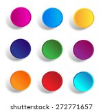 button stock vector ... | Shutterstock .eps vector #272771657