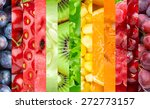 healthy food background.... | Shutterstock . vector #272773157