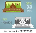 vintage camping and outdoor... | Shutterstock .eps vector #272775989