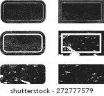 set of grunge rubber stamps. | Shutterstock .eps vector #272777579