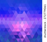 abstract geometric triangle... | Shutterstock .eps vector #272779061