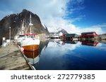 Boats  Lofoten Islands  Norway