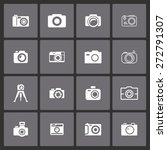 camera icon set | Shutterstock .eps vector #272791307