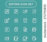 edit document | Shutterstock .eps vector #272792855