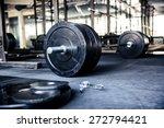 closeup image of a fitness... | Shutterstock . vector #272794421