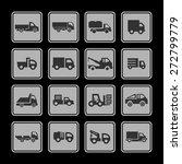 truck icon set | Shutterstock .eps vector #272799779