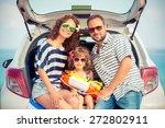 family on vacation. summer... | Shutterstock . vector #272802911