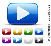 video vector colored buttons ... | Shutterstock .eps vector #272807711