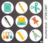colorful vector icons for web...