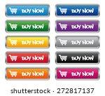 buy now metallic rectangular... | Shutterstock .eps vector #272817137
