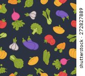 food pattern | Shutterstock .eps vector #272827889