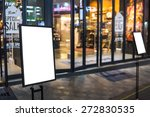 empty sign in the street and... | Shutterstock . vector #272830535