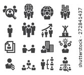 human resources icon | Shutterstock .eps vector #272841437