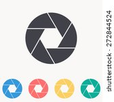 aperture icon | Shutterstock .eps vector #272844524