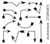 bows  arrows | Shutterstock .eps vector #272851871