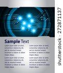 brochure  flyer  magazine cover.... | Shutterstock .eps vector #272871137