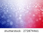 abstract patriotic red white... | Shutterstock . vector #272874461