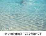 clear ocean water  in resort | Shutterstock . vector #272908475