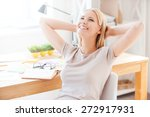 satisfied with the work done.... | Shutterstock . vector #272917931