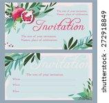 invitation | Shutterstock .eps vector #272918849