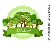 ecology background design with...   Shutterstock .eps vector #272919311