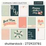 a set of 12 templates for... | Shutterstock .eps vector #272923781