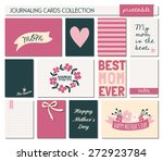 a set of 12 templates for... | Shutterstock .eps vector #272923784