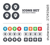 sale pointer tag icons.... | Shutterstock .eps vector #272925605