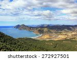 portman bay in cartagena  spain