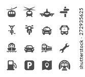 Transportation Icon Set 2 ...