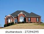 Large Single Family Home - stock photo