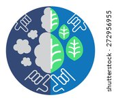 diagram depicts environment... | Shutterstock .eps vector #272956955
