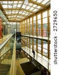 waiting man in wood glass... | Shutterstock . vector #2729650