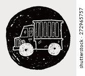 truck doodle | Shutterstock .eps vector #272965757