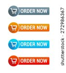 order now buttons | Shutterstock .eps vector #272986367