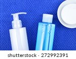 daily cleansing cosmetics  ... | Shutterstock . vector #272992391