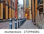 old street view bologna city ... | Shutterstock . vector #272996081