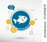 Fish Symbol And Creative Desig...