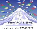 praying hand  pray for nepal ...