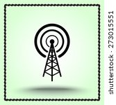 wireless sign icon  vector... | Shutterstock .eps vector #273015551