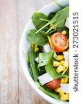 healthy eating  dieting ... | Shutterstock . vector #273021515