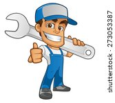 mechanic  | Shutterstock .eps vector #273053387